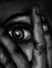 Fear icon, from Below
