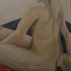 Life drawing -pastels