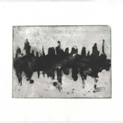 Cityscape (sugarlift etching)