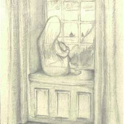 Ghost girl, pencil