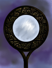 Summerland Mirror, illustration from Below