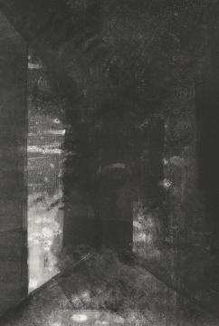 Corridor II, , monotype print